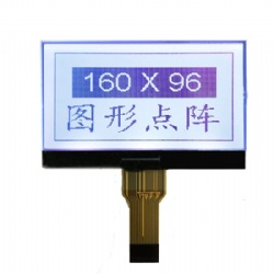 Custom 160x96 Pixels Black On White Graphic LCD Display